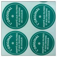 China Product round paper label sticker made in guangzhou , Custom print labels on sale