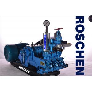 China 45 Kw Big Flow Mud Pump Triplex Single Acting Piston Pump for Cleaning Water Well on sale