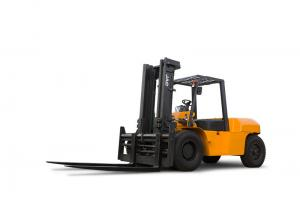 China 7 Tons Diesel Forklift Truck CPCD70H For Warehouse Construction on sale