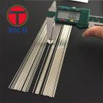 304 316 Stainless Steel Capillary Tube Thin Diameter Round Shape For Food Industry