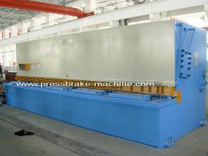 China 6m Length Electric Hydraulic Shearing Machine Metal Sheet Cutting Tools 15KW Power on sale