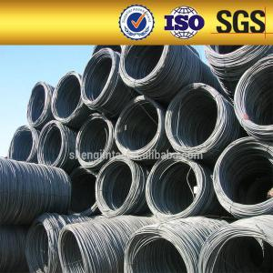 China Mild steel wire rod coils /low carbon SAE 1012 10mm diameter steel wire rod on sale