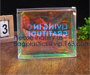 China Biodegradable Eva Plastic Bag With Slider Zipper Make Up Tool Packing,Shower Cap, Apron, Book Cover,Card Holder,Inflatab on sale