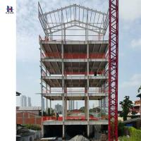 China high quality of Q235 345 multi story steel structure building on sale