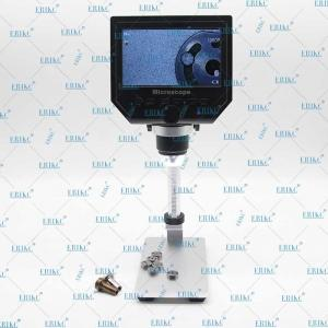 China ERIKC Digital Industrial Stereo Microscope with camera screen \ LCD Microscope cyclic record automatic shutdown on sale