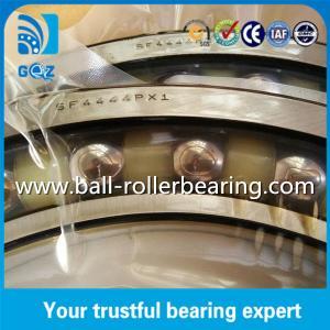 China Sealed Angular Contact Bearings , Nylon Cage Angular Contact Thrust Ball Bearing NTN SF4444PX1 on sale