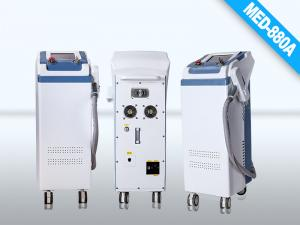 China white and gray laser Spot Size 2 , 8mm Q Switched ND YAG Laser  Energy  Tattoo Remover on sale