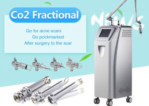 China Clinic Co2 Fractional Laser Skin Resurfacing Equipment / Scar Removal Machine on sale