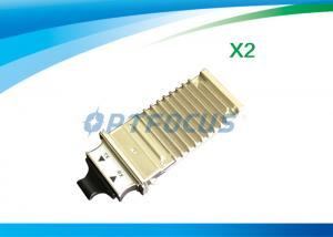 China 1310nm Single Mode Fiber Transceiver , 10km LC Transceiver 10gbase-sr x2 module DDM on sale