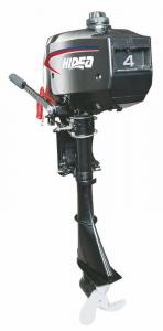 China 2 Stroke Long Shaft Outboard Motors , 4HP Manual / Electric Start on sale