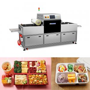 China Simple Design Ready Meal Packaging Machine MAP Industrial Food Sealer on sale