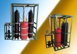90L 1250kg/M3 50℃ FM200 Fire Suppression System