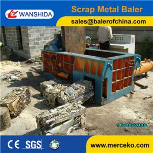 China Full Automatic Hydraulic Metal Baler For Scrap Metal Baling Press Into Bales Y83/T-125Z on sale