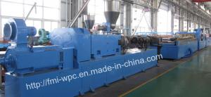 China PVC/WPC/PP/PE Plastic Extrusion Line, Extruder, Extrusion Machine on sale