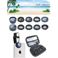 2019 new design 10 in 1 cell phone camera lens for all smart phones