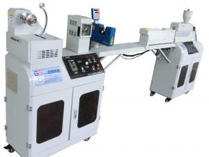 China Mini 1.75mm PLA ABS Single Screw Extruder Machine With PLC Control System on sale