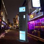 Language Custom Free Cell Phone Charging Stations Restaurant Advertising