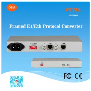 China E1 to Ethernet Converter, G.703 to RJ45 and Coax to Ethernet on sale