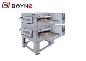 China Restaurant Conveyor Commercial Pizza Oven High Efficiency LCD Display 30kw/H 220V on sale