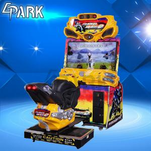 China 1 Player Race Car Amusement FF Moto Arcade Racing Game Machine 251W on sale