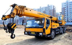 China Longest Boom 45m XCMG RT50 50 Ton 4x4 All Wheel Drive Heavy Rough Terrain Tractor Crane For Europe on sale