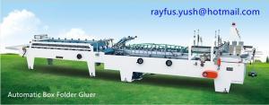 China Automatic High Speed Folder Gluer Machine Pre Fold Or Bottom Lock Ce on sale