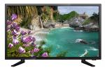 Narrow Bezel FHD DLED TV 1080P Super Slim , Black LED TV 23.6 Inch