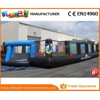 Good Inflatable Sports Games Soccer Court Inflatable Football Field For Kindergarten