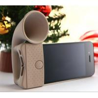 Cell Phone Silicone Cases , Silicone speaker for Iphone 4/4S/5