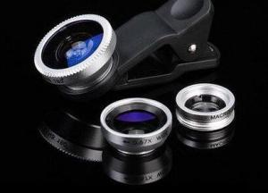 China Portable Wide Angle Smartphone Camera Lens Colorful Clip On Style on sale