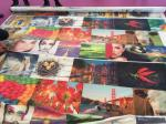 100% Polyster Fabric Sublimation Coated Mesh Digital Printing 100g Flag Fabric 130g Fabric
