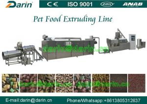 China High Efficiency Automatic pet food extrusion process Line stainless steel on sale