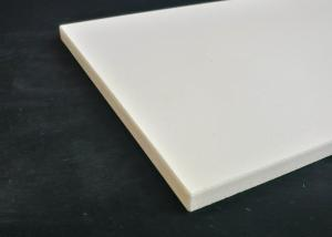 China White Color Quartz Ceramic Plate Thermal Material Made Custom Service Available on sale