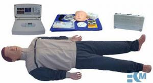 China Senior automatic CPR manikin with large screen LCD - KM/CPR580 , CPR training simulator on sale