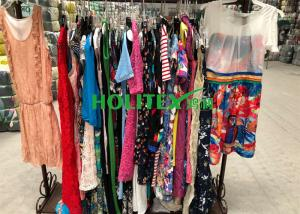 China Used women's clothing , ladies cotton dresses , first grade American style second hand clothes on sale