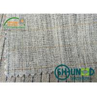 natural / black / white heavy weight interfacing cloth for men's suit  with good resistance