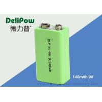9V Ni-Mh Industrial Rechargeable Battery 140mAh For Power Tools