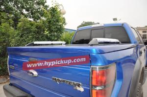 Quality truck accessories bedliner fiberglass tonneau cover for F-150 for sale