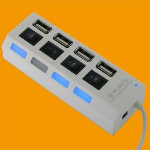 China Portos do cubo 4 de USB com interruptor on sale