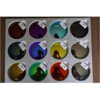 Mirror 1.499 Revo Sunglass Lenses , 70MM Dia Sunglasses Color Tinted Lenses