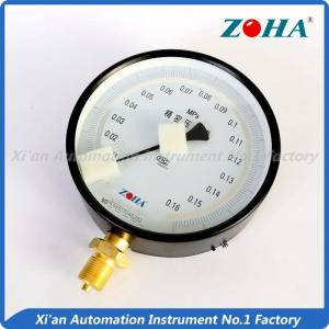 China 0.25 0.4 0.6 High Accuracy Pressure Gauge / Black Precision Tire Pressure Gauge on sale