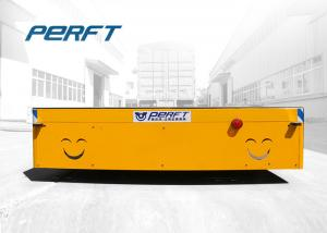 China 30 Ton Battery Powered Trackless Transfer Cart For Factory Carrying Heavy Things on sale
