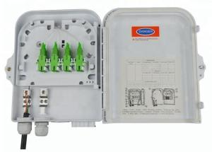 China Outdoor 8 Port Wall Mounted Fiber Optic Terminal Box / FTTH Distribution Box on sale