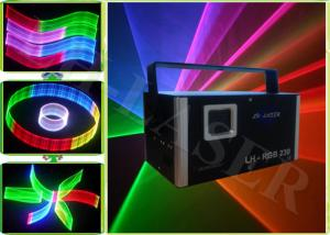 China 2D / 3D 512 Multi Color RGB Disco DJ Laser Lights 1200MW With SD Card on sale