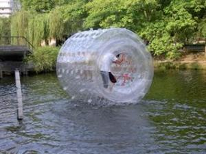 China Durable Inflatable Transparent Water Roller for Outdoor Use and Kids Inflatable Pool on sale