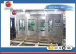 China 18-18-6 Monoblcok 3 in 1 Plastic Bottle Auto Water Filling Machine 4.6KW wholesale
