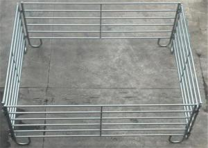 China Precision Livestock Metal Fence Panels Farm Guard Field Fence 5 Rail Style on sale