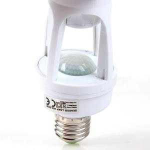 China Human Sensor Lamp Holder Pir Motion Detector With Electromagnetic DC Relay Switching on sale