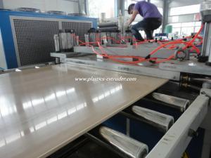 China WPC PVC Foam Board Machine Plastics Extruder 380V / 3 Phase / 50Hz on sale