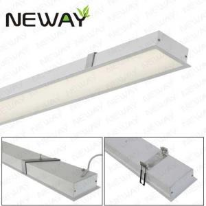 Aluminum Led Linear Recessed Down